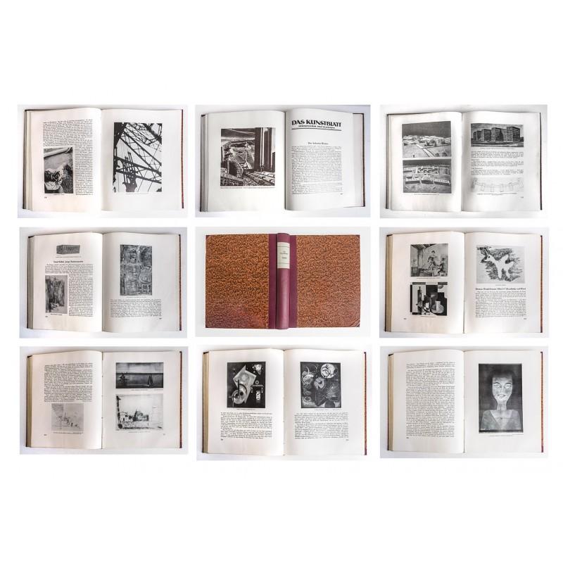 WESTHEIM, Paul (editor): DAS KUNSTBLATT. Vol. XIII, 1929, issues No. 01 - 12.