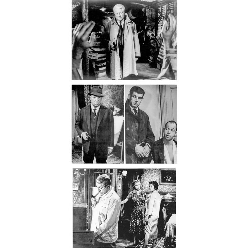 Jean Gabin. Drei Original-Fotografien aus seinen Filmen