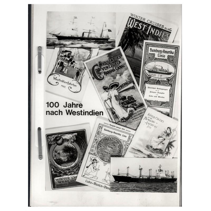 Hapag--Lloyd: 100 Jahre nach Westindien. Informationsschrift mit 11 Fotografien (1971)