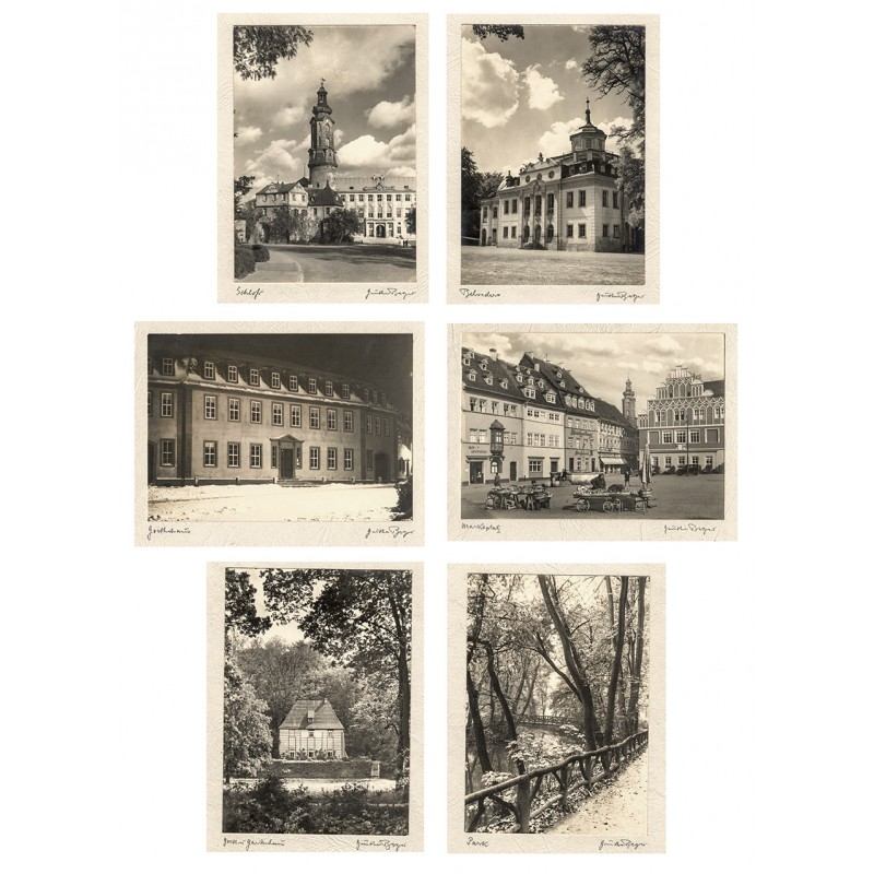 Berger, Günther: Weimar. Portfolio mit 12 Original Fotografien (1920 oder 1930er Jahre (?)