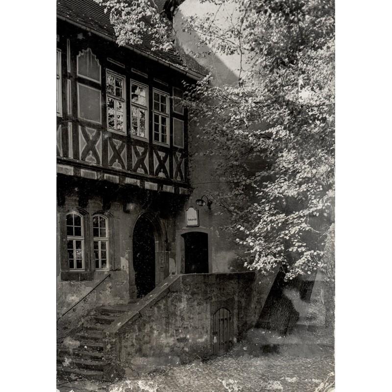 RETZLAFF, Erich: Steinau an der Strasse: Jugendhaus der Gebrüder Grimm. Original-Fotografie (1950er Jahre)