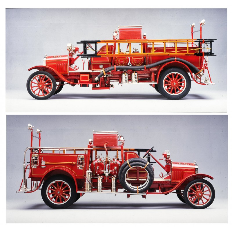 du Bois-Reymond, Prosper (Foto-Atelier): 1926 FORD Model TT Triple Combination Pumper.