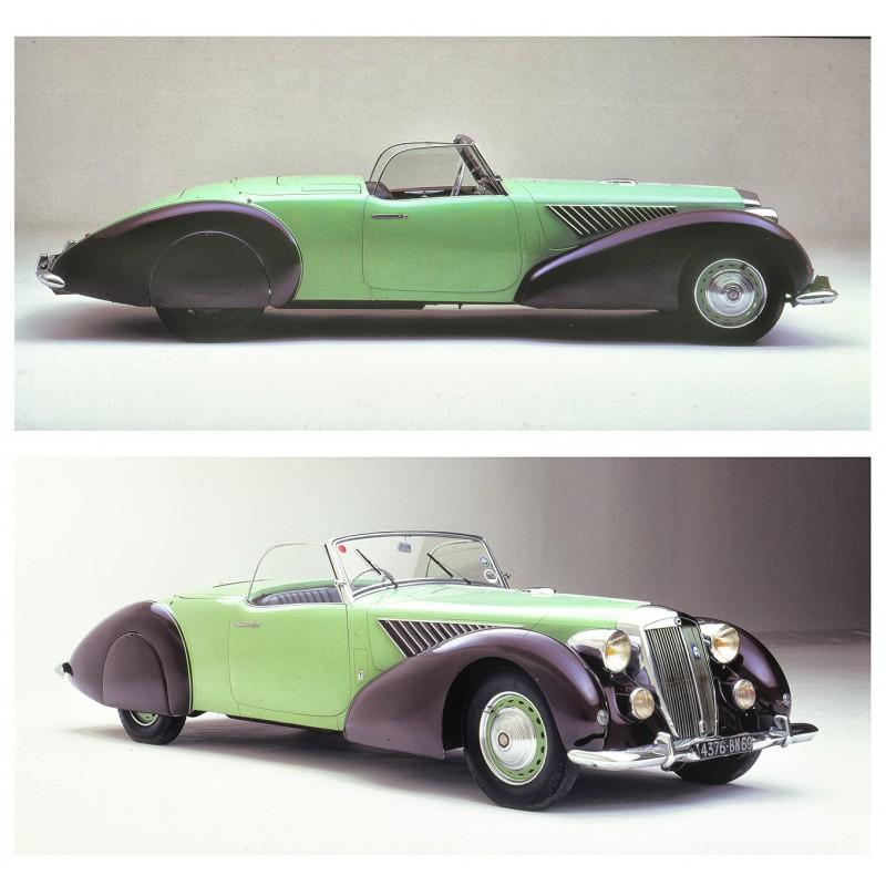 du Bois-Reymond, Prosper (Foto-Atelier): Kabriolett Lancia Astura.