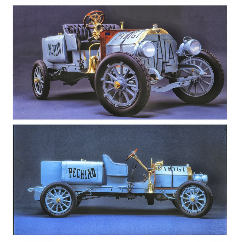 du Bois-Reymond: Der ITALA Motorwagen ZWEI professionell erstellte Farbdiapositive (1970er Jahre).