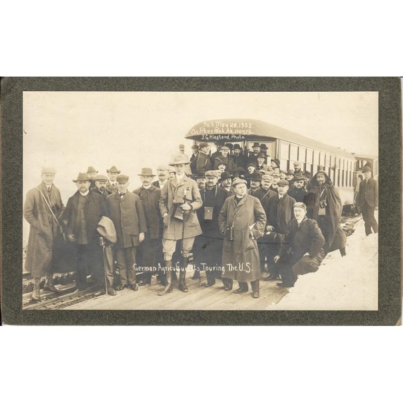 Besuchs von deutschen Landwirtschafts-Experten in den USA (1903)