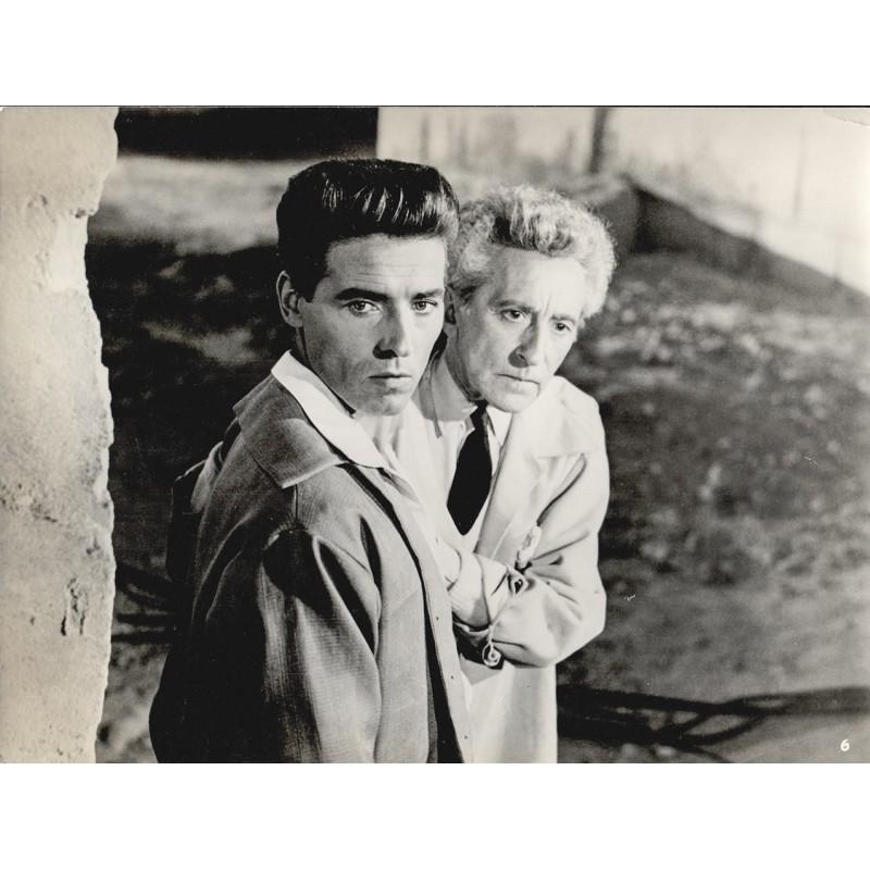 Jean Cocteau und Edouard Dhermite in dem Film: Die schrecklichen Kinder. Original Fotografie (1950)
