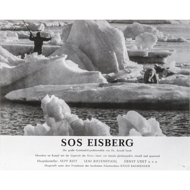 S.O.S. Eisberg Film von Dr. Arnold Fanck - Eisbärenjagd, Grönland (1933)
