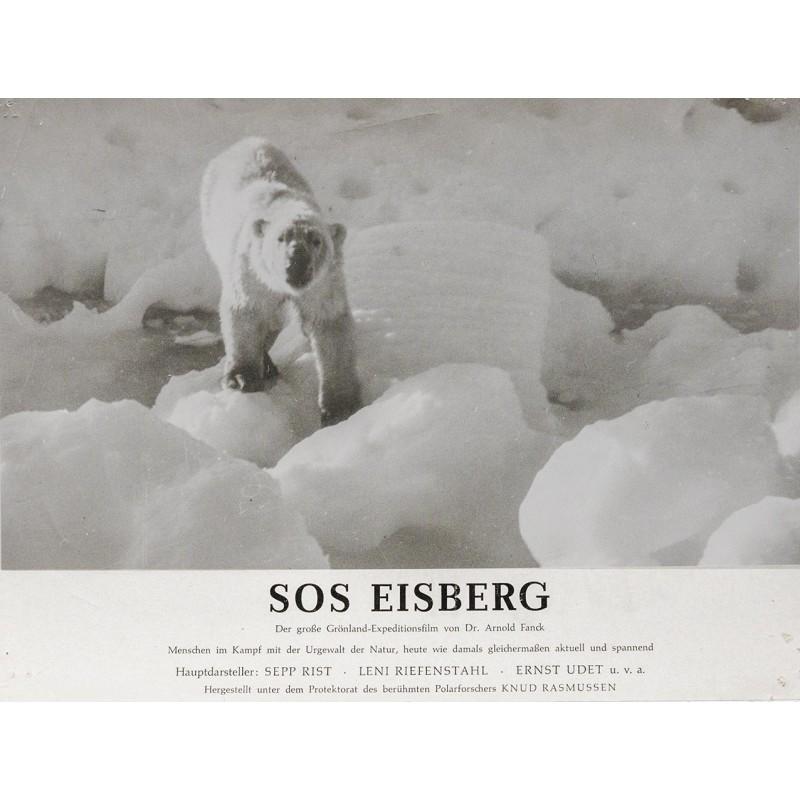 S.O.S. Eisberg Film von Dr. Arnold Fanck - Eisbär, Grönland (1933)