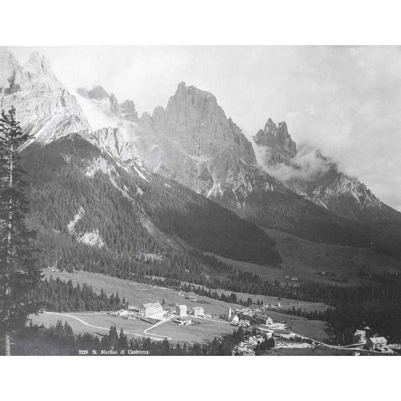 Photochrom: Ansicht von S. Martino di Castrozzo