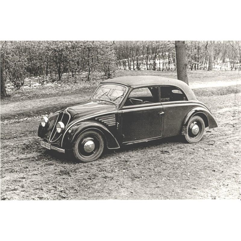 DKW 4 - 8 Schwebeklasse in Stromlinienform. Original Fotografie (1934 - Abzug aus den 1960er Jahren)