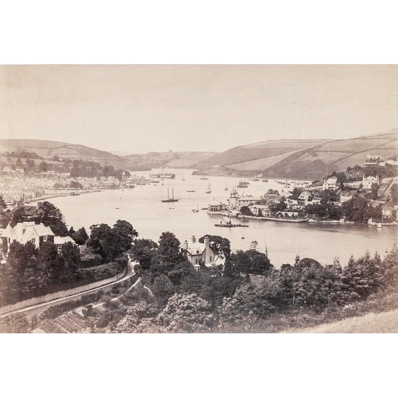 Ansicht von DARTMOUTH. Albumin-Abzug (ca. 1880)