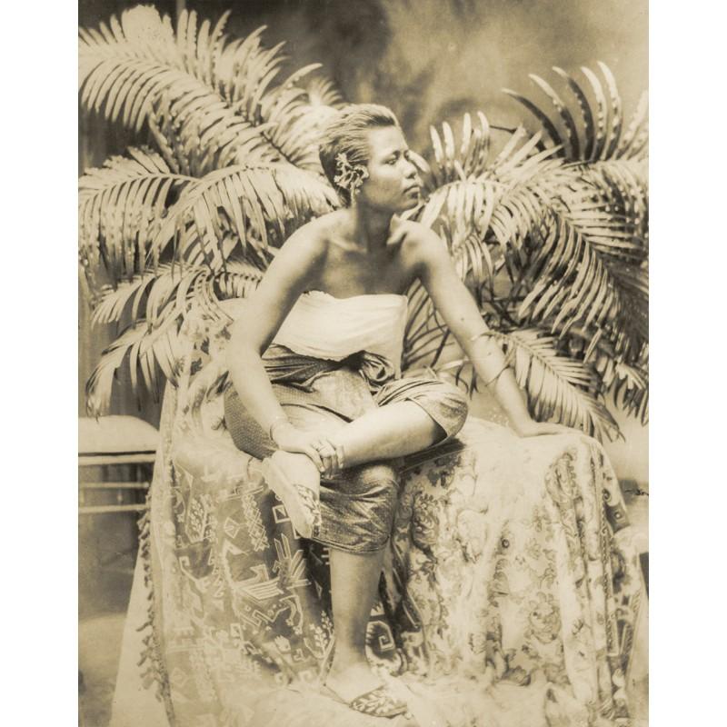 KRAUSE, Dr. Gregor (zugeschrieben): Bali. Balinesische Schönheit. Original-Fotografie