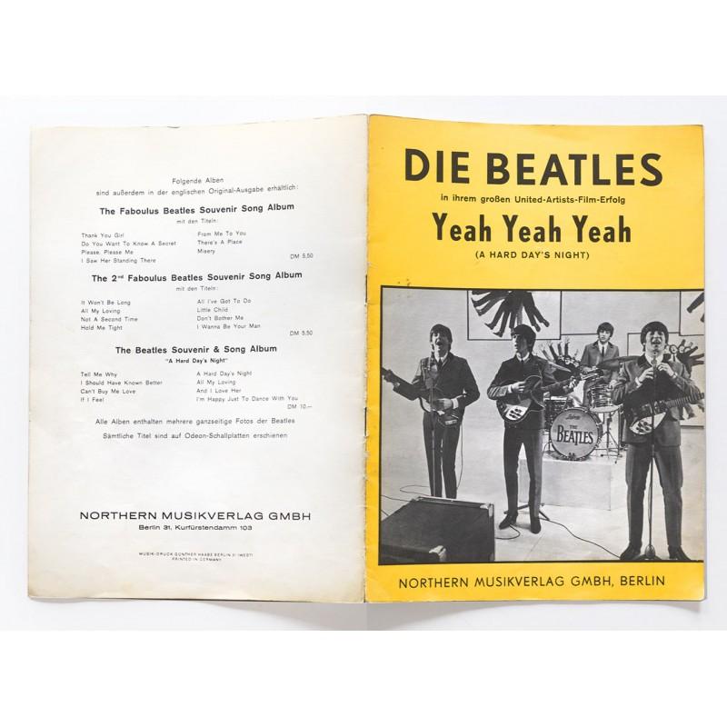 Nothern Songs: Die Beatles in ihrem grossen United-Artist-Film-Erfolg Yeah Yeah Yeah (1964)