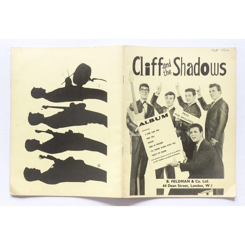 B. Feldman, London: Cliff and the SHADOWS. Album (1962)