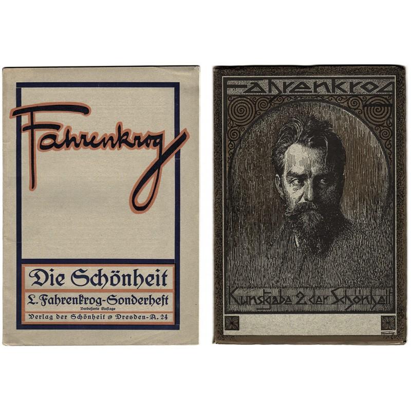DIE SCHÖNHEIT: Zwei Sonderhefte zu LUDWIG FAHRENKROG (ca. 1923).