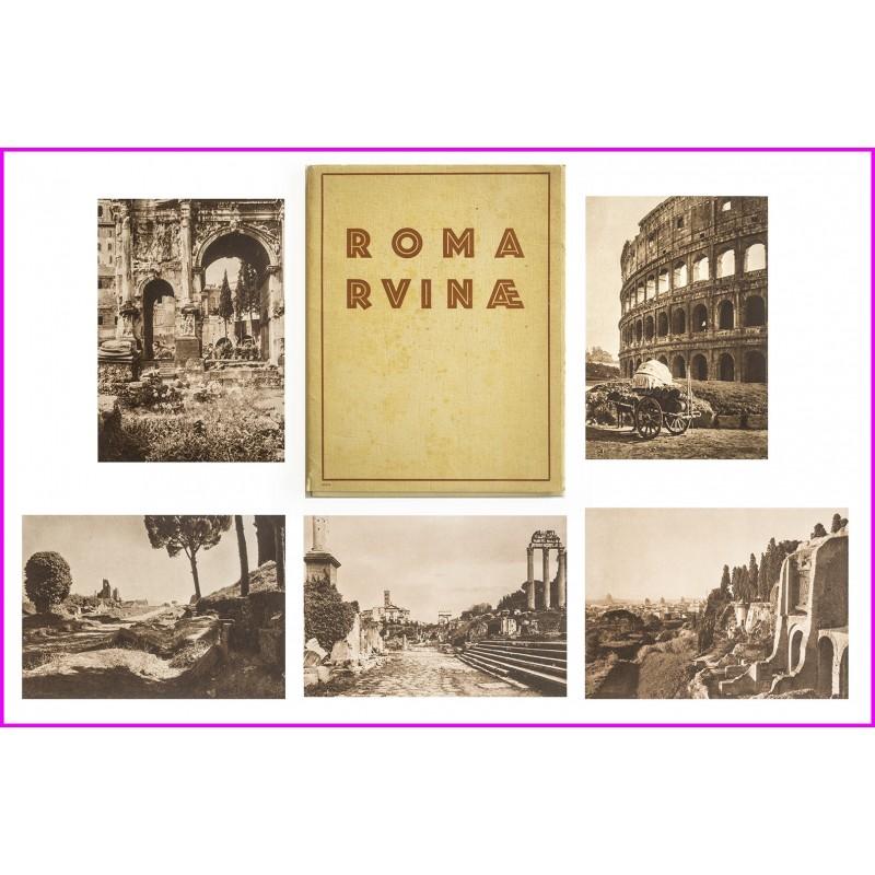 LAZI, Franz: Roma Ruinae. Mit einem Geleitspruch von Hermann Lingg. Portfolio (ca. 1925)