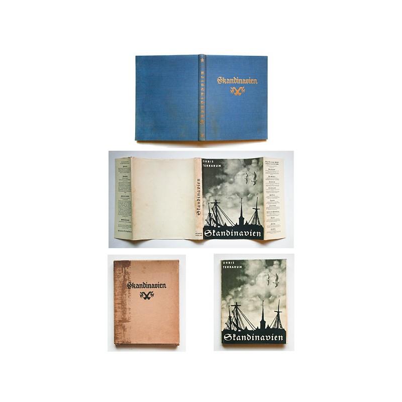 Mit Umschlag und Schuber - Skandinavien. 280 Fotografien auf Tiefdrucktafeln (1930)