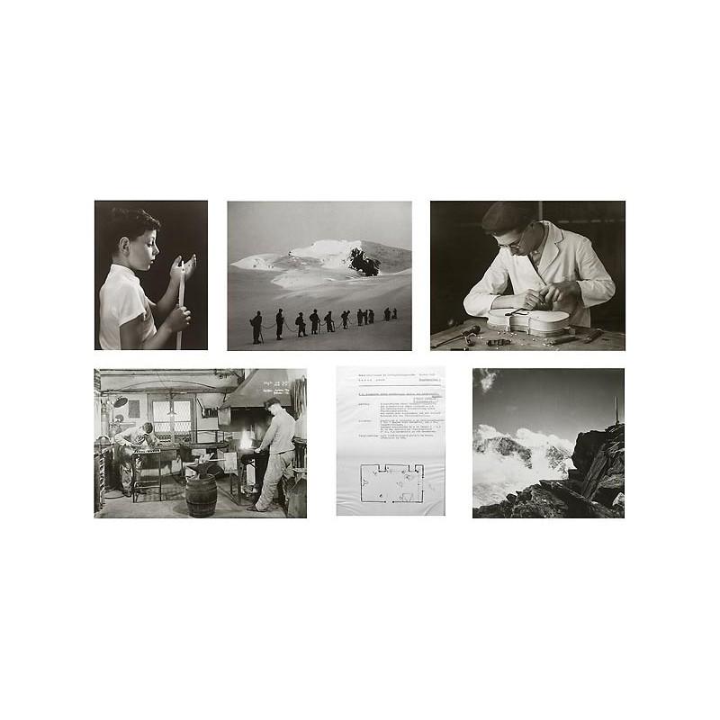 LUNTE, Albert: 5 Original-Fotografien, die im Rahmen seiner Fotografen-Meisterprüfung 1939 von ihm gefertigt wurden.