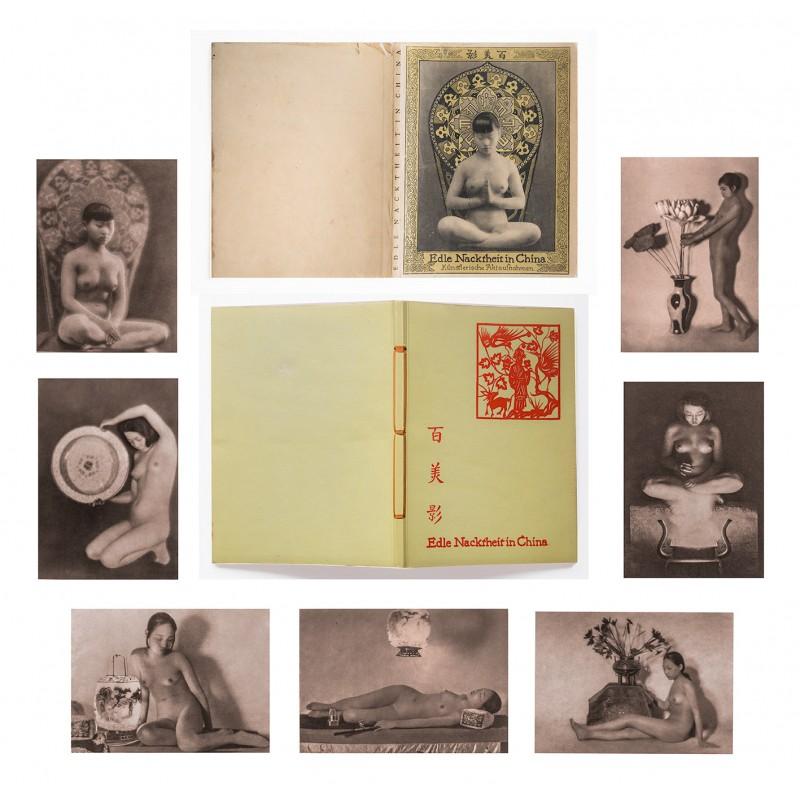 Heinz von PERCKHAMMER: Edle Nacktheit in China. 32 nude photographs.