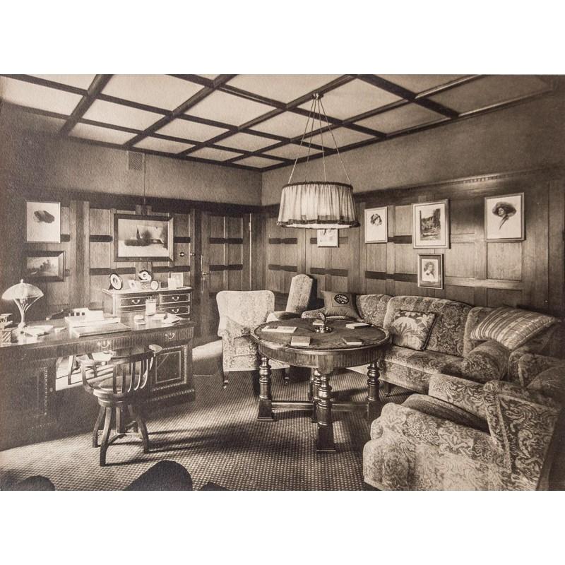 Jugendstil Einrichtung Um 1900 Foto Dokument