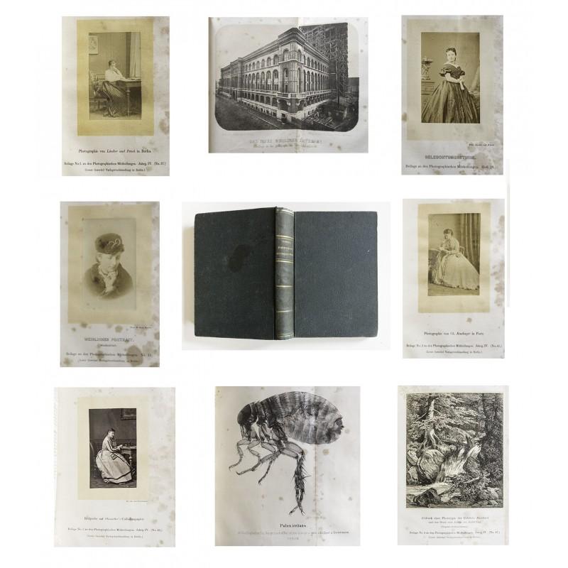 VOGEL, Hermann: Photographische Mitteilungen. 3. und 4. Jahrgang 1867 / 1868